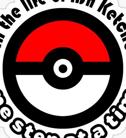 pokemon ash ketchum Sticker