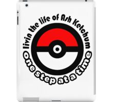 pokemon ash ketchum iPad Case/Skin