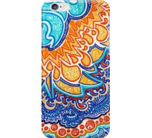Fire and Water Doodle iPhone Case/Skin