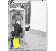 how to tell that I . . .  iPad Case/Skin