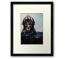 The Witcher: Eredin, the King of the Wild Hunt Framed Print