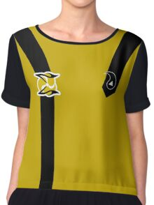 Operations Division (Enlisted) Chiffon Top