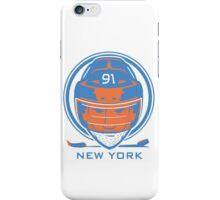 New York Hockey T-Shirt iPhone Case/Skin