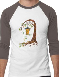 Fairy tree Men's Baseball ¾ T-Shirt