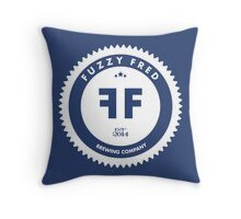 Fuzzy Fred Throw Pillow