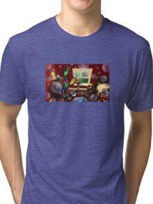 Bubbles bubbles everywhere. Tri-blend T-Shirt