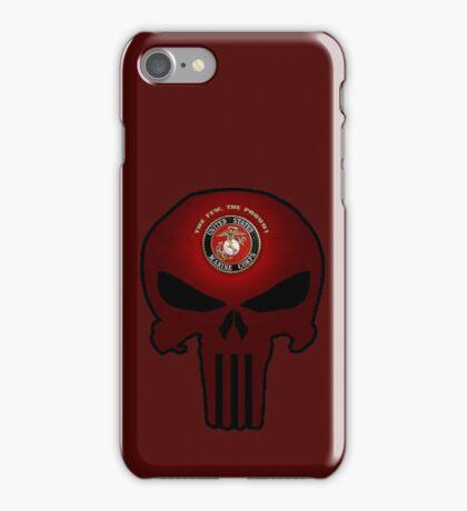 USMC Punisher iPhone Case/Skin