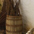 Barrel of Hay by Kenneth Hoffman