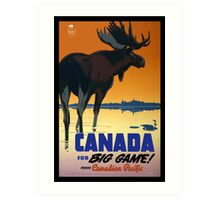 Canada - Vintage Travel Poster Art Print
