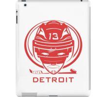 Detroit Hockey T-Shirt iPad Case/Skin
