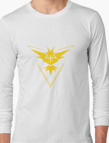 Pokemon Go Team Instinct (Yellow Team) Long Sleeve T-Shirt