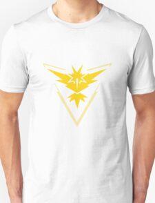 Pokemon Go Team Instinct (Yellow Team) Unisex T-Shirt