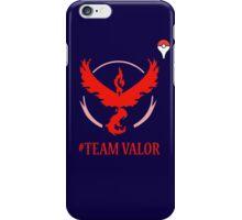 Team Valor Pokemon Go iPhone Case/Skin