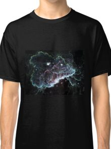 Dark Cloud - Abstract Fractal Artwork Classic T-Shirt