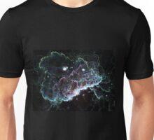 Dark Cloud - Abstract Fractal Artwork Unisex T-Shirt