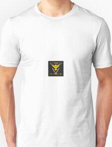 Pokemon Go Team Instinct/ Yellow Team Unisex T-Shirt
