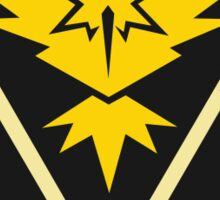 Pokemon Go Team Instinct/ Yellow Team Sticker