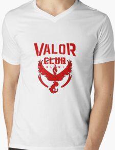 Valor Club Pokemon Go Mens V-Neck T-Shirt