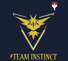 Team Instinct Pokemon Go  One Piece - Long Sleeve