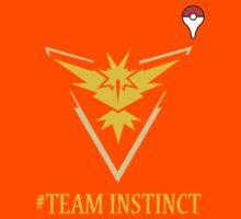 Team Instinct Pokemon Go  Kids Tee