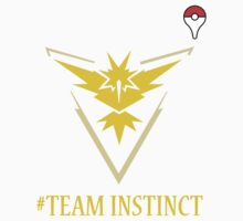 Team Instinct Pokemon Go  One Piece - Short Sleeve