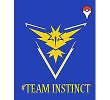 Team Instinct Pokemon Go  Photographic Print