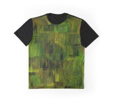 Green and Rounds Graphic T-Shirt