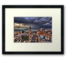 The Time is Now Framed Print