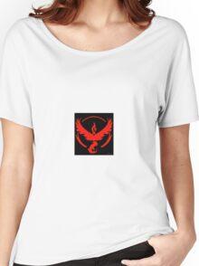 Pokemon Go Team Valor (Red Team) Women's Relaxed Fit T-Shirt