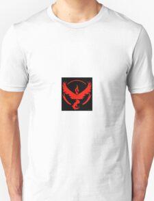 Pokemon Go Team Valor (Red Team) Unisex T-Shirt