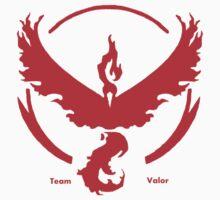 Team Valor Pokemon GO awesome merchandise! Kids Tee