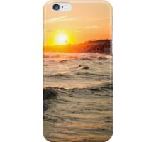 Watercolor Beach Sunset iPhone Case/Skin
