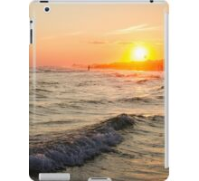 Watercolor Beach Sunset iPad Case/Skin