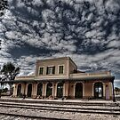 Tel Aviv, The Old Railway Station: the haunted station house by Ronsho
