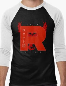 Team Rocket GO! Men's Baseball ¾ T-Shirt
