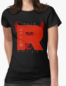 Team Rocket GO! Womens Fitted T-Shirt