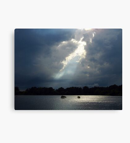 Thunder And Water Canvas Print