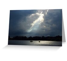 Thunder And Water Greeting Card