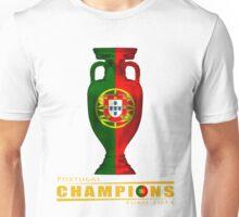 PORTUGAL, CHAMPIONS, EURO 2016 Unisex T-Shirt