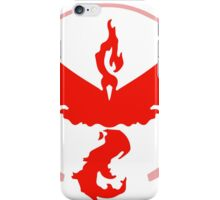 Pokemon Go Team Valor (Red Team) iPhone Case/Skin