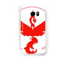 Pokemon Go Team Valor (Red Team) Samsung Galaxy Case/Skin