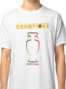 PORTUGAL EURO 2016, CHAMPIONS Classic T-Shirt