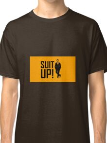 """""""Suit Up"""" with Barney Classic T-Shirt"""