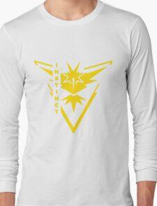 Pokemon Go - Team Instinct (Team Yellow) - Vertical Long Sleeve T-Shirt
