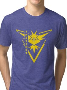 Pokemon Go - Team Instinct (Team Yellow) - Vertical Tri-blend T-Shirt