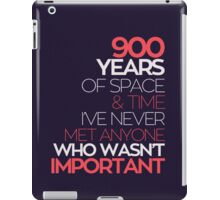 900 Years of the Doctor iPad Case/Skin