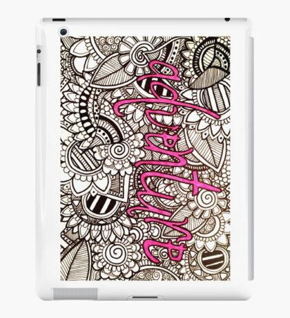 Adventure Zentangle iPad Case/Skin
