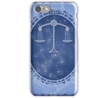 Libra - Zodiac air sign iPhone Case/Skin