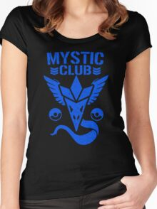 Mystic Club Women's Fitted Scoop T-Shirt