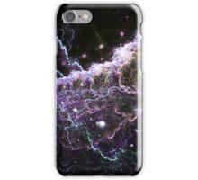 Purple Cloud - Abstract Fractal Artwork iPhone Case/Skin